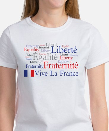 France - Liberty, Equality, F Women's T-Shirt