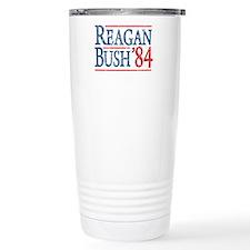 Reagan Bush 84 retro Travel Mug