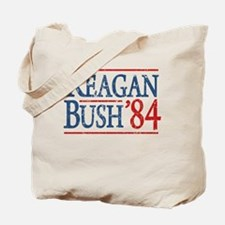 Reagan Bush 84 retro Tote Bag