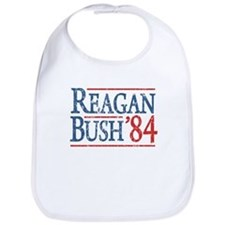 Reagan Bush 84 retro Bib