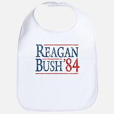 Reagan Bush 84 retro Bib