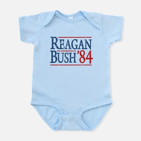 Reagan Bush 84 retro Infant Bodysuit