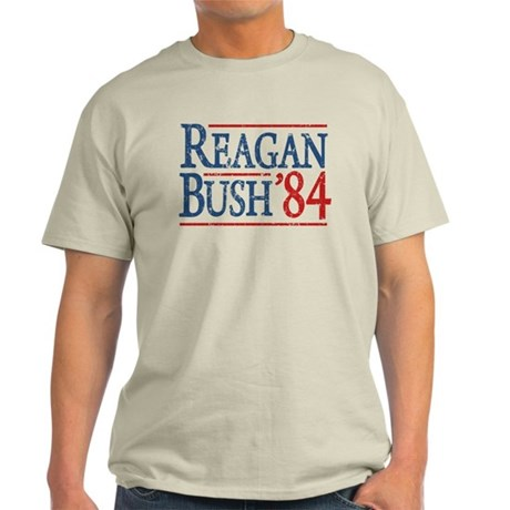Reagan Bush 84 retro Light T-Shirt