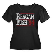 Reagan Bush 84 retro T