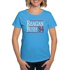 Reagan Bush 84 retro Tee