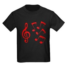 G-clef with Musical NOTES IV T