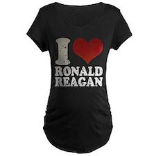 I love Ronald Reagan Retro T-Shirt