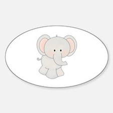 Cartoon Elephant Decal