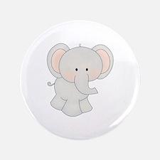 "Cartoon Elephant 3.5"" Button (100 pack)"