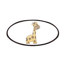 Cartoon Giraffe Patches