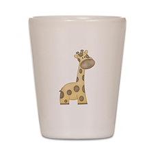 Cartoon Giraffe Shot Glass