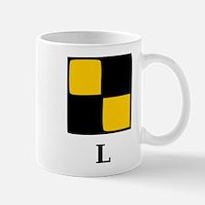 Nautical Letter L Mug