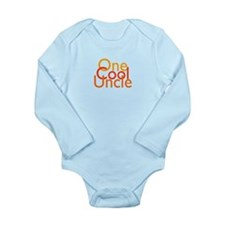 One Cool Uncle Long Sleeve Infant Bodysuit