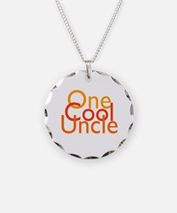 One Cool Uncle Necklace