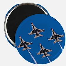 Thunderbirds 4 Bird Side Magnet
