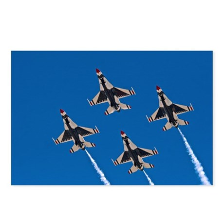 Thunderbirds 4 Bird Side Postcards (Package of 8)