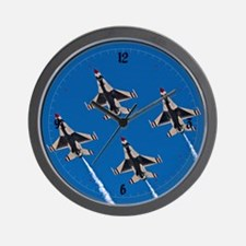 Thunderbirds 4 Bird Side Wall Clock