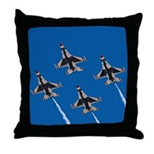 Thunderbirds 4 Bird Side Throw Pillow