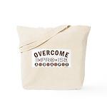 Improvise, Adapt, Overcome Tote Bag