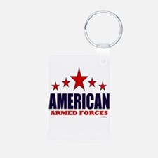 American Armed Forces Keychains