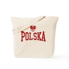 Polska White Eagle Tote Bag