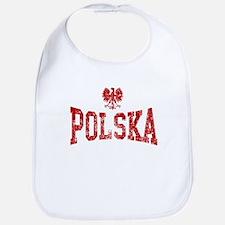 Polska White Eagle Bib