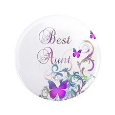 """Best Aunt 3.5"""" Button (100 pack)"""