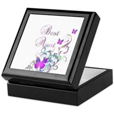 Best Aunt Keepsake Box