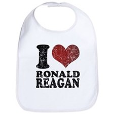 I love Ronald Reagan Retro Bib
