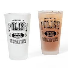 Polish Godfather Drinking Glass