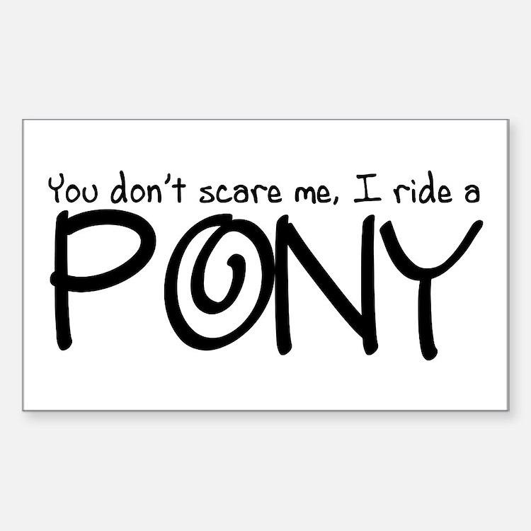 Pony Decal