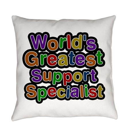 World's Greatest Support Specialist Everyday Pillo