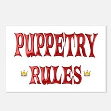 Puppetry Rules Postcards (Package of 8)