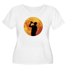Full Moon Drinking T-Shirt
