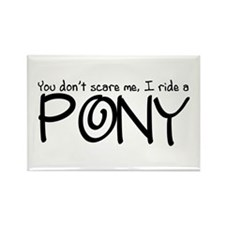 Pony Rectangle Magnet (100 pack)
