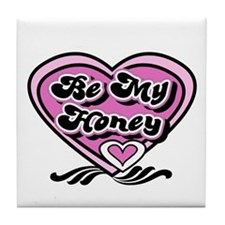 Be My Honey Tile Coaster