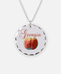 Georgia Peach Necklace