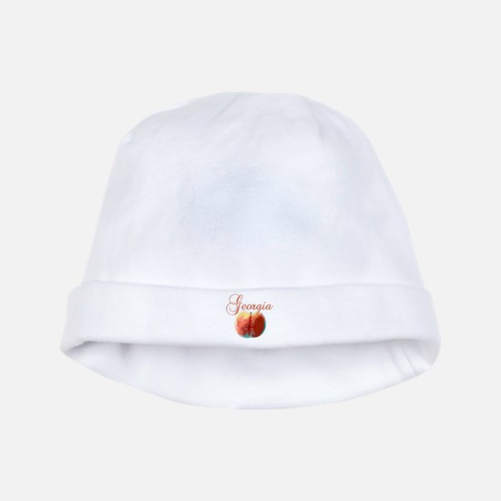 Georgia Peach baby hat