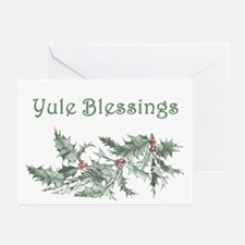 Yule Blessings Greeting Cards (Pk of 10)