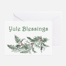 Yule Blessings Greeting Cards (Pk of 20)