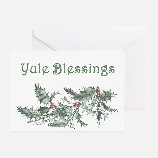 Yule Blessings Greeting Cards (Pk of 20)