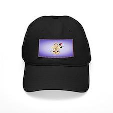 Hamsa and Flowers Baseball Hat