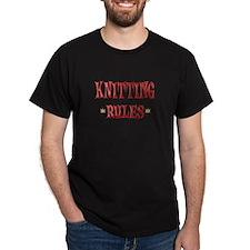 Knitting Rules T-Shirt