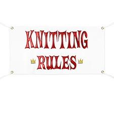 Knitting Rules Banner