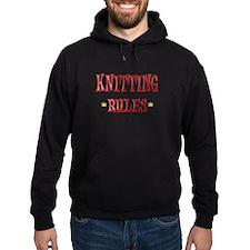 Knitting Rules Hoodie