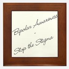 Bipolar Awareness Framed Tile