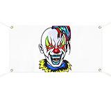 Evil clowns Banners