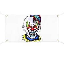 Vampire Evil Clown Banner