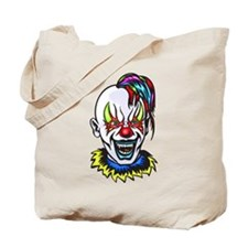 Vampire Evil Clown Tote Bag