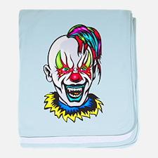 Vampire Evil Clown baby blanket